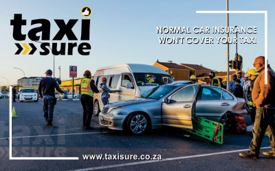 Normal car insurance won't cover your taxi
